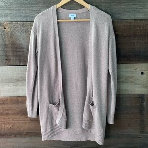 3/$15 Old Navy Girl's Tan Knit Cardigan Sweater